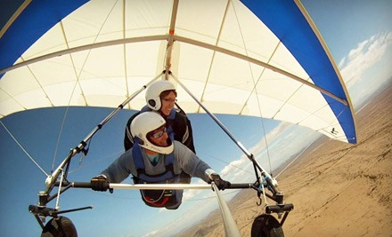 One 2,500-foot tandem discovery flight in a hang glider - Sonora Wings Hang Gliding in Maricopa