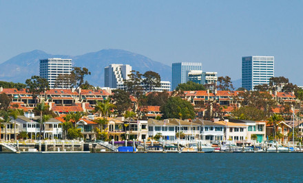 Los Angeles: One-, Two-, or Three-Night Stay with Daily Breakfast at Radisson Hotel Newport Beach in Newport Beach, CA