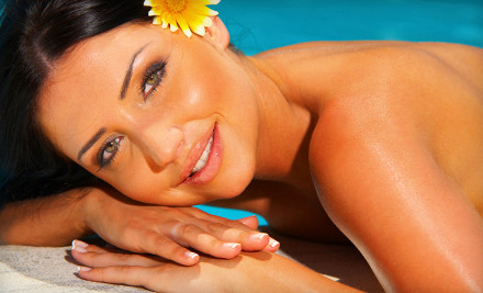 Two spray tans or UV tans in any level bed - Unlimited Tan in Mokena