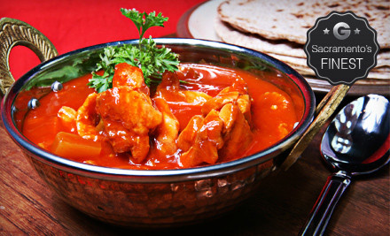$40 Groupon for four or more - Bombay Bar & Grill in Sacramento