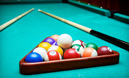 Two food items and unlimited pool for two people - Fast Eddie's Sports Tavern and Social Clubs in Beaumont