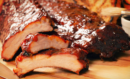 Denver: Barbecue at Hickory House Ribs, Redeemable Sunday–Thursday or Friday and Saturday (Up to 57% Off)