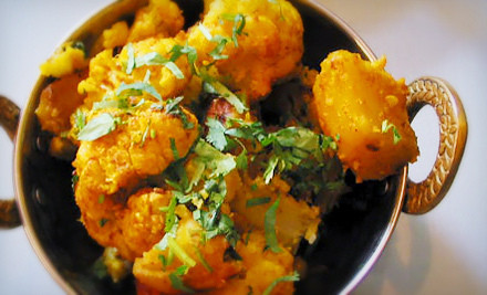 $25 Groupon - Qazi's Indian Curry House & Mediterranean Cuisine in Seattle