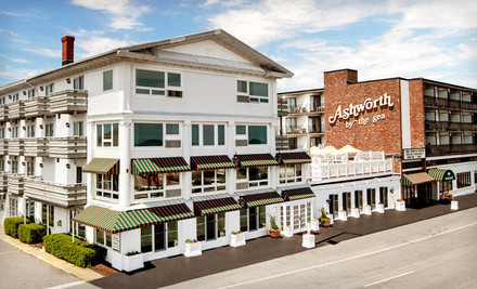 Boston: One-Night Stay with a Bottle of Wine at Ashworth by the Sea Hotel in Hampton, NH