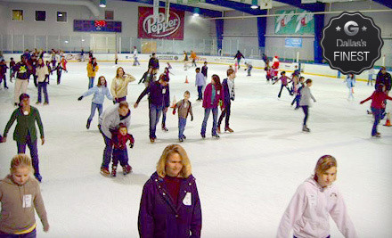 Two admissions and two skate rentals at one of the four listed locations - Dr Pepper StarCenter in Frisco
