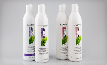 IMAGE United National Closeout Store HB  medium $25 for a Biolage Hydrathérapie or Colorcarethérapie Duo (Up to $51.97 List Price). Free Shipping.