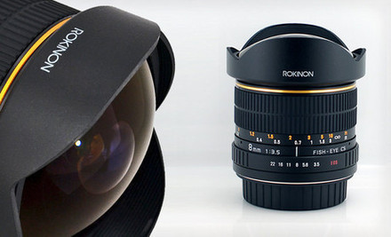 cloned image25675 0 medium $249 for a Rokinon 8mm Ultrawide Fisheye Lens for Canon Cameras ($399 List Price). Free Shipping.
