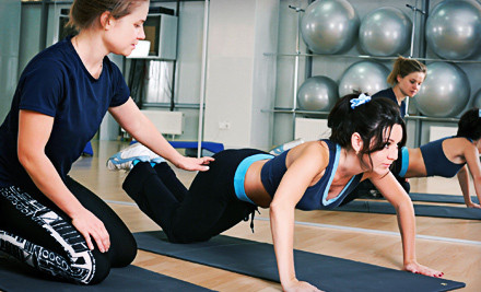 RackMultipart20121008 28301 1xxen83 medium One  or Three Month Gym Membership with One Personal Training Session at Dolphin Fitness Clubs (Up to 84% Off)