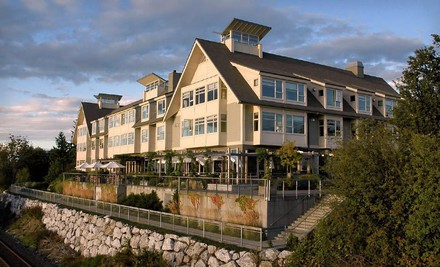 Option 2: Two-night stay in a luxury king suite with a $65 spa or food credit - The Chrysalis Inn & Spa in Bellingham