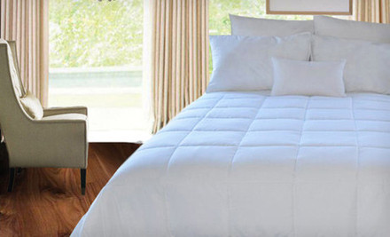 Groupon: Natural Comfort Microfiber Down-Alternative Comforter In Twin, Full, Queen, Or King (Up To 64% Off). Free Shipping.