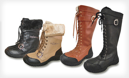 Groupon: Women's All-Weather Lace-Up Boots (Up To 74% Off). Multiple Styles And Sizes Available. Free Shipping.