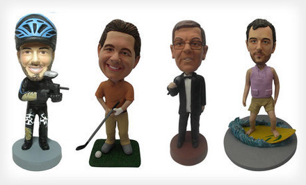 Washington DC: $55 for a Custom Bobblehead Package from AllBobbleheads.com with Shipping Included ($130 Total Value)