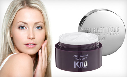 $25 for Michael Todd KNU Anti-Aging Face Lift Cream. Free Shipping