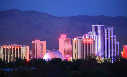 Reno: One- or Two-Night Stay with Options for Breakfast, Casino Coupon Book, and Match Play at Ramada Reno Hotel & Casino