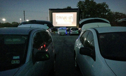 Austin: Outdoor Movie and Popcorn for Two or Four at Blue Starlite Mini Urban Drive-In (Half Off)
