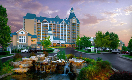 Two-Night Stay with Resort Credit at Chateau on the Lake Resort Spa in Branson, MO