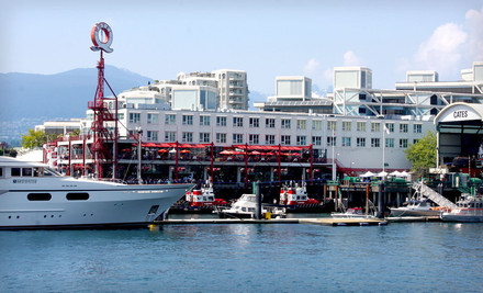 Vancouver: Stay at Lonsdale Quay Hotel in North Vancouver, BC