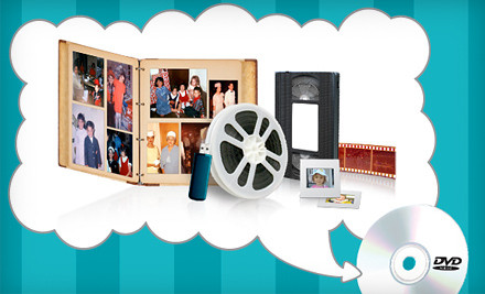 68% Off VHS Conversion Services