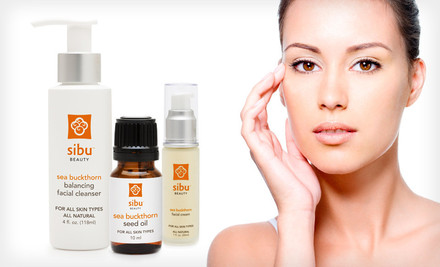 Sibu Beauty Sea-Buckthorn Face Regimen
