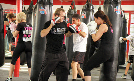 Up to 83% Off Boxing and Kickboxing Classes at LA Boxing