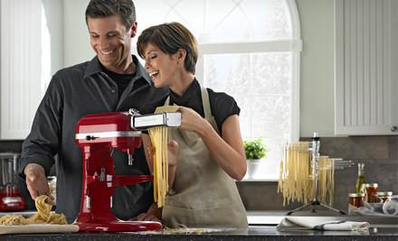 KitchenAid Stand Mixer and Pasta Set $449 Shipped (Save 45%)
