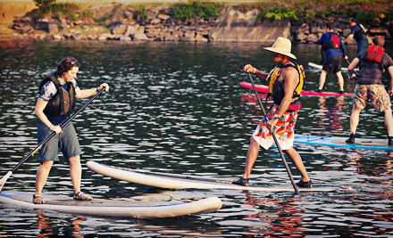 Up to 56% Off Standup-Paddleboarding Lessons