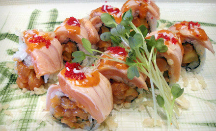 Half Off at Dolce Coffee & Sushi