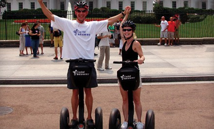 Washington DC: Two-Hour Segway Tour of Washington, DC for One or Two from Capital Segway (Up to 53% Off)