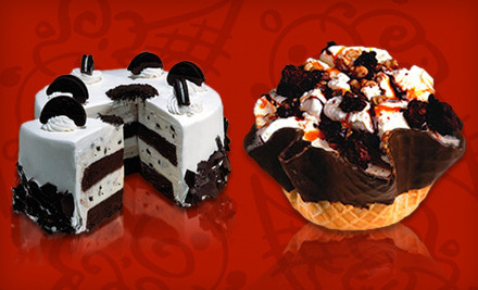 Cold Stone Creamery – Half Off Ice Cream or Cake