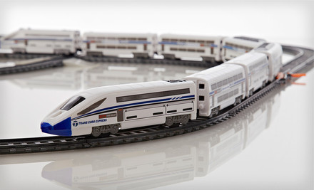 PowerTrains Deluxe City Train Set $45 Shipped (Save 36%)