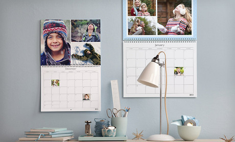 Up to 62% Off a Custom Photo Wall Calendar