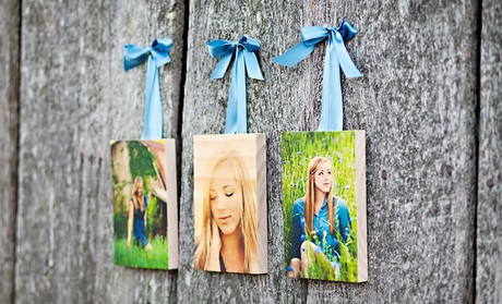 $39 for Custom Wooden Photo Blocks or Boards