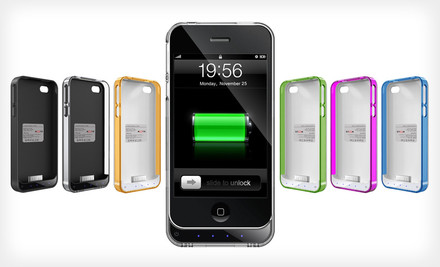 Mota iPhone 4/4S Extended-Battery Case $29 Shipped! (Save 59%)