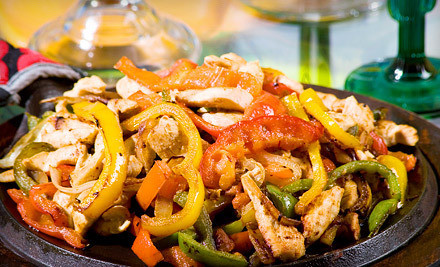 Washington DC: Fajitas and Bottomless Drinks for Two or Four at Fiesta (Up to 54% Off)