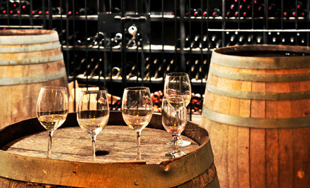Washington DC: Winery Visit with Souvenir Glasses, Snacks, and Gift-Shop Credit for Two or Four at The Winery at Bull Run (Half Off)