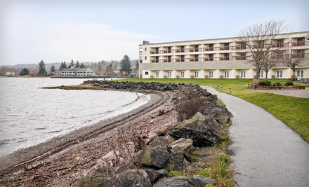 Seattle: One- or Two-Night Stay with Breakfast at Silverdale Beach Hotel in Washington