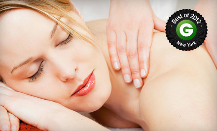 New York: 60- or 90-Minute Sports, Swedish, or Deep-Tissue Massage at Massage America (Up to 63% Off)