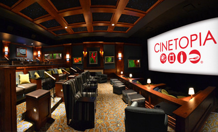 Portland: $19 for a Movie and Concessions for Two at Cinetopia (Up to $50 Value)