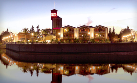 Napa / Sonoma: One-Night Stay with a Bottle of Wine and Two Wine-Tasting Passes at Napa River Inn in Napa, CA