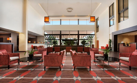 Los Angeles: 1- or 2-Night Stay with 10 Days of Onsite Parking from Ontario Airport Hotel in Ontario, CA