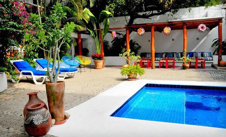 Phoenix: Three- or Four-Night Stay at Villa Mercedes Petit Hotel in Puerto Vallarta, Mexico