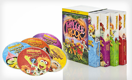 $39 for Fraggle Rock: Complete Series Collection 20-DVD Set. Free Shipping and Free Returns