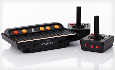 $35.99 for an Atari Flashback 4 Classic Game Console. Free Shipping and Free Returns