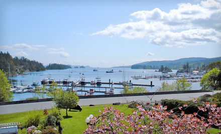 Victoria: Two-Night Stay for Two at Harbour House Hotel in Ganges Village, BC