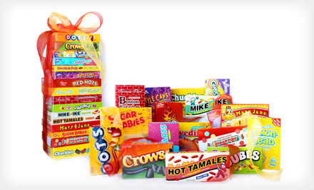 $17.99 for a Candy Crate Movie-Night Retro-Candy Collection with 16 Classic Candies