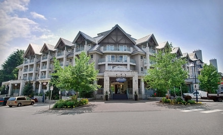 Vancouver: One- or Two-Night Stay with Parking and Spa Credits at Summit Lodge & Spa in Whistler, BC