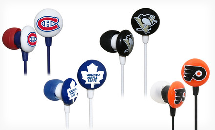 $5.99 for iHip NHL Earbuds. 19 Teams Available. Free Returns