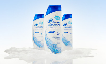 $14.99 for a Three Pack of head & shoulders Classic Clean 2-in-1 Shampoo and Conditioner
