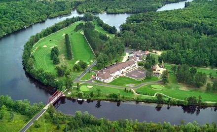 Green Bay: One- or Two-Night Stay with Welcome Drinks or Unlimited Golf at The Four Seasons Island Resort in Pembine, WI