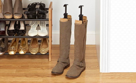 $12.99 for One Pair of Simplify Velvet Boot Shapers. Five Colors Available. Free Returns